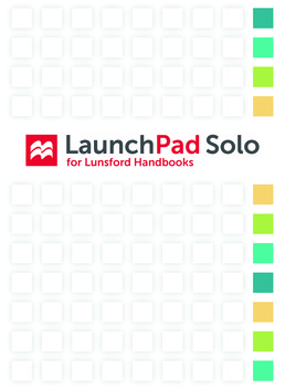 LaunchPad Solo for Lunsford Handbooks (Twelve-Month Access) by Andrea A. Lunsford - First Edition, 2017 from Macmillan Student Store