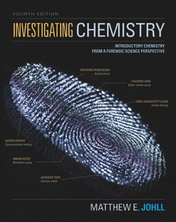 Investigating Chemistry by Matthew Johll - Fourth Edition, 2019 from Macmillan Student Store