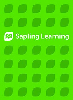 Sapling Homework for Biochemistry (Single-Term Access) by Sapling Learning - First Edition, 2016 from Macmillan Student Store
