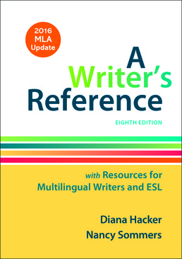 writer s reference with resources for multilingual writers and esl