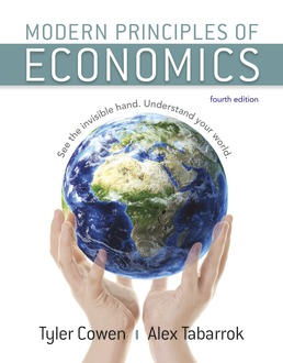 Modern Principles Of Economics 4th Edition Macmillan Learning For Instructors
