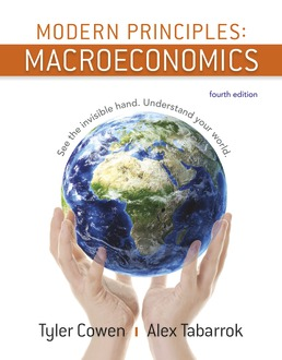 Modern Principles: Macroeconomics by Tyler Cowen; Alex Tabarrok - Fourth Edition, 2018 from Macmillan Student Store
