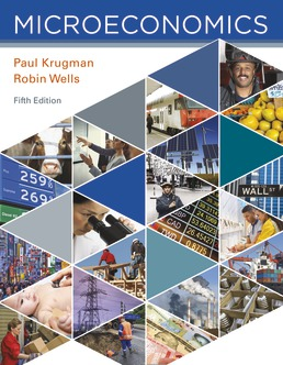 Microeconomics by Paul Krugman; Robin Wells - Fifth Edition, 2018 from Macmillan Student Store