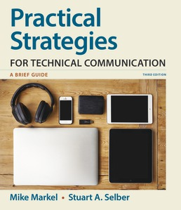 Practical Strategies for Technical Communication by Mike Markel; Stuart A. Selber - Third Edition, 2019 from Macmillan Student Store