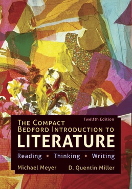 Compact Bedford Introduction to Literature by Michael Meyer; D. Quentin Miller - Twelfth Edition, 2020 from Macmillan Student Store