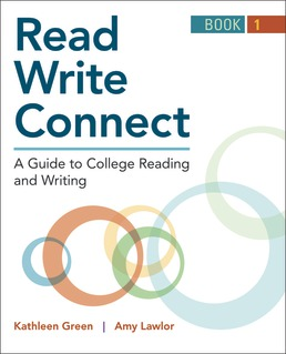Read, Write, Connect, Book 1 by Kathleen Green; Amy Lawlor - First Edition, 2019 from Macmillan Student Store