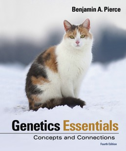 Genetics Essentials by Benjamin A. Pierce - Fourth Edition, 2018 from Macmillan Student Store