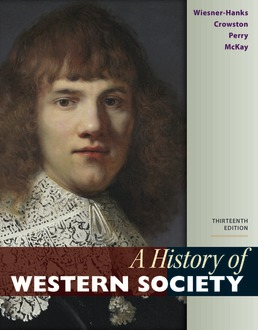 History of Western Society, Combined Volume by Merry E. Wiesner-Hanks; Clare Haru Crowston; Joe Perry; John McKay - Thirteenth Edition, 2020 from Macmillan Student Store