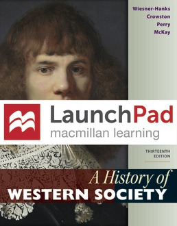 LaunchPad for A History of Western Society (1-Term Access) by Merry E. Wiesner-Hanks; Clare Haru Crowston; Joe Perry; John P. McKay - Thirteenth Edition, 2020 from Macmillan Student Store