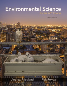 Environmental Science for the AP® Course by Andrew Friedland; Rick Relyea - Third Edition, 2019 from Macmillan Student Store