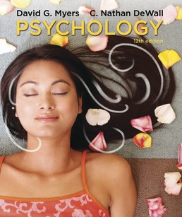 Psychology (High School Edition) by David G. Myers; C. Nathan DeWall - Twelfth Edition, 2018 from Macmillan Student Store