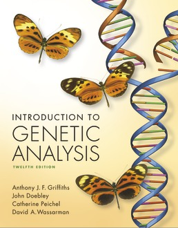 Introduction to Genetic Analysis by Anthony Griffiths; John Doebley; Catherine Peichel; David A. Wassarman - Twelfth Edition, 2020 from Macmillan Student Store