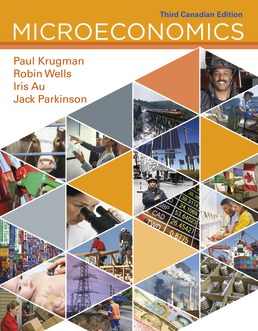 Microeconomics: Canadian Edition by Paul Krugman; Robin Wells; Iris Au; Jack Parkinson - Third Edition, 2018 from Macmillan Student Store