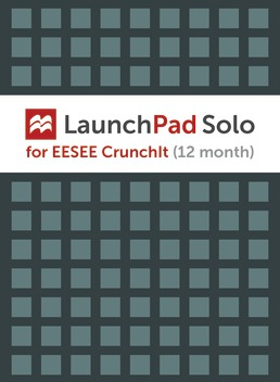 LaunchPad Solo for EESEE CrunchIt (1-Term Online) by W.H. Freeman and Company - First Edition, 2017 from Macmillan Student Store
