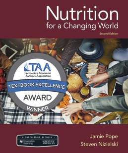 Scientific American Nutrition for a Changing World by Jamie Pope; Steven Nizielski - Second Edition, 2019 from Macmillan Student Store