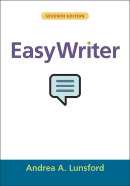 EasyWriter by Andrea A. Lunsford - Seventh Edition, 2019 from Macmillan Student Store