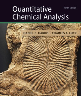 Quantitative Chemical Analysis by Daniel C. Harris; Charles A. Lucy - Tenth Edition, 2020 from Macmillan Student Store