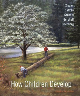 How Children Develop (Canadian Edition) by Robert S. Siegler; Jenny Saffran; Nancy Eisenberg; Judy S. DeLoache; Elizabeth Gershoff; Susan Graham - Sixth Edition, 2020 from Macmillan Student Store