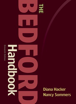 Bedford Handbook by Diana Hacker; Nancy Sommers - Eleventh Edition, 2020 from Macmillan Student Store