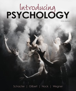 Introducing Psychology by Daniel Schacter; Daniel Gilbert; Daniel Wegner; Matthew Nock - Fifth Edition, 2021 from Macmillan Student Store