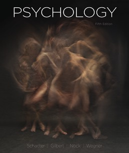 Psychology by Daniel Schacter; Daniel Gilbert; Matthew Nock; Daniel Wegner - Fifth Edition, 2020 from Macmillan Student Store