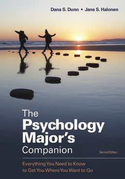 The Psychology Major's Companion by Dana S. Dunn; Jane S. Halonen - Second Edition, 2020 from Macmillan Student Store