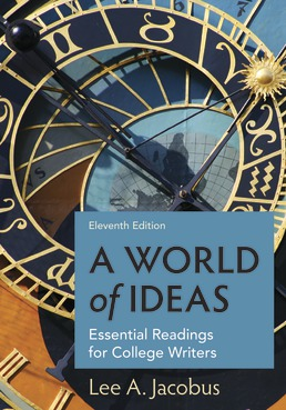 World of Ideas by Lee A. Jacobus - Eleventh Edition, 2020 from Macmillan Student Store