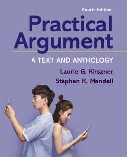 Practical Argument by Laurie G. Kirszner; Stephen R. Mandell - Fourth Edition, 2020 from Macmillan Student Store