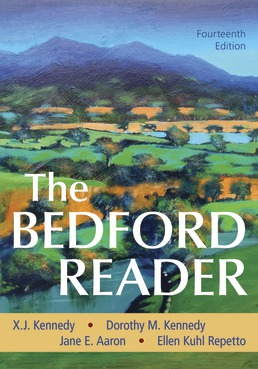 The Bedford Reader by X. J. Kennedy; Dorothy M. Kennedy; Jane E. Aaron; Ellen Kuhl Repetto - Fourteenth Edition, 2020 from Macmillan Student Store