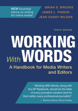 Working With Words by Brian S. Brooks; James L. Pinson; Jean Gaddy Wilson - Tenth Edition, 2020 from Macmillan Student Store