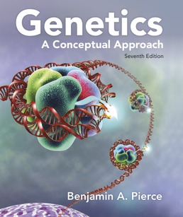 Genetics: A Conceptual Approach by Benjamin A. Pierce - Seventh Edition, 2020 from Macmillan Student Store