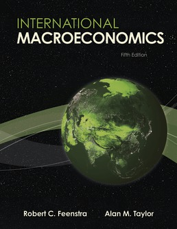 International Macroeconomics by Robert Feenstra; Alan Taylor - Fifth Edition, 2021 from Macmillan Student Store