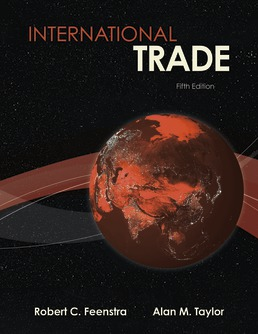 International Trade by Robert Feenstra; Alan Taylor - Fifth Edition, 2021 from Macmillan Student Store