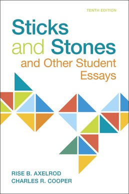 Sticks & Stones by Rise B. Axelrod; Charles R. Cooper - Tenth Edition, 2019 from Macmillan Student Store