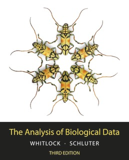 The Analysis of Biological Data by Michael C. Whitlock; Dolph Schluter - Third Edition, 2020 from Macmillan Student Store