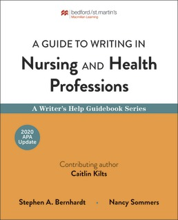 Guide to Writing in Nursing and Health Professions by Stephen Bernhardt; Nancy Sommers - First Edition, 2019 from Macmillan Student Store