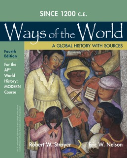 1200 Update Ways of the World with Sources for the AP® Modern Course by Robert W. Strayer; Eric W. Nelson - Fourth Edition, 2020 from Macmillan Student Store