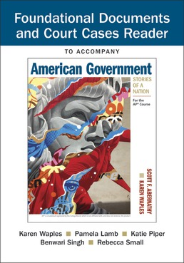 Document Reader for American Government: Stories of a Nation by Scott Abernathy; Karen Waples - First Edition, 2019 from Macmillan Student Store