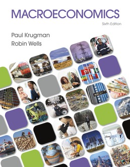 Macroeconomics by Paul Krugman; Robin Wells - Sixth Edition, 2021 from Macmillan Student Store
