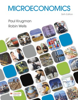 Microeconomics by Paul Krugman; Robin Wells - Sixth Edition, 2021 from Macmillan Student Store
