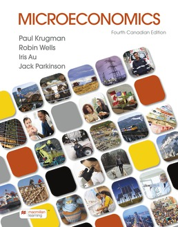 Microeconomics: Canadian Edition by Paul Krugman; Robin Wells; Iris Au; Jack Parkinson - Fourth Edition, 2021 from Macmillan Student Store
