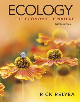 Ecology: The Economy of Nature by Rick Relyea - Ninth Edition, 2021 from Macmillan Student Store