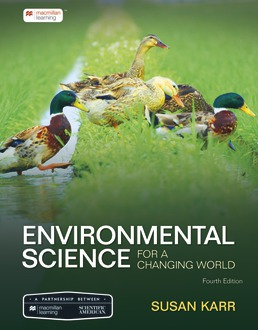 Scientific American Environmental Science for a Changing World by Susan Karr - Fourth Edition, 2021 from Macmillan Student Store