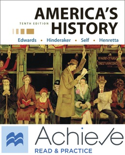Achieve Read & Practice for America's History, Value Edition (1-Term Access) by Rebecca Edwards; Eric Hinderaker; Robert Self; James Henretta - Tenth Edition, 2021 from Macmillan Student Store