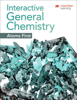Achieve for Interactive General Chemistry Atoms First (Six-Months Access) by Macmillan Learning - First Edition, 2019 from Macmillan Student Store