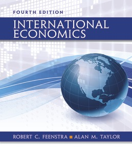 International Economics by Robert C. Feenstra; Alan M. Taylor - Fourth Edition, 2017 from Macmillan Student Store
