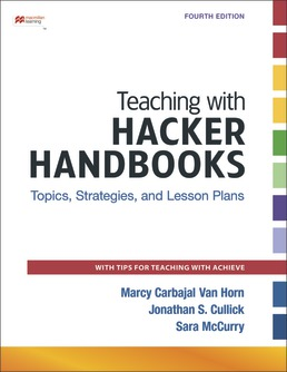 Teaching with Hacker Handbooks (Online Only) by Diana Hacker; Marcy Carbajal Van Horn; Jonathan S. Cullick; Sara McCurry - Fourth Edition, 2021 from Macmillan Student Store