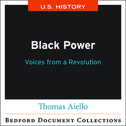 Black Power by Bedford/St. Martin's; Thomas Aiello - First Edition, 2021 from Macmillan Student Store