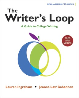 The Writer's Loop with 2020 APA Update by Lauren Ingraham; Jeanne Bohannon - First Edition, 2020 from Macmillan Student Store