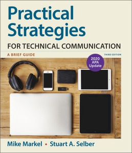 Practical Strategies for Technical Communication with 2020 APA Update by Mike Markel; Stuart A. Selber - Third Edition, 2019 from Macmillan Student Store